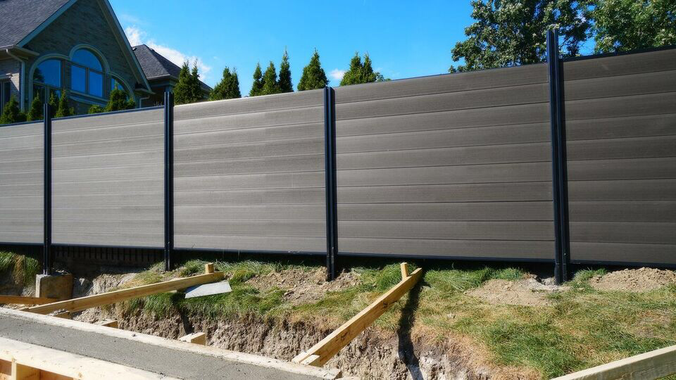 Modern Alumi Composite Fence Wholesale Fence