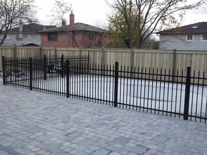 Aluminum-Fencing-Installed-around-a-Pool-in-New-Market by wholesalefence.ca