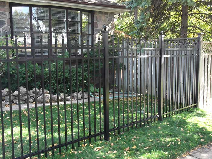 Aluminum-Fencing-Installed-in-Brampton by wholesalefence.ca