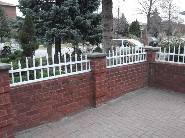 Aluminum-Fencing-with--around-the-Porch-in-Woodbridge-Ontario by wholesalefence.ca