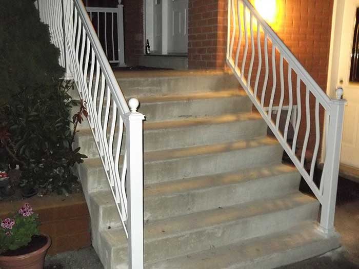 Aluminum-Hand-Railing-Replacement-in-Scarbourough by wholesalefence.ca