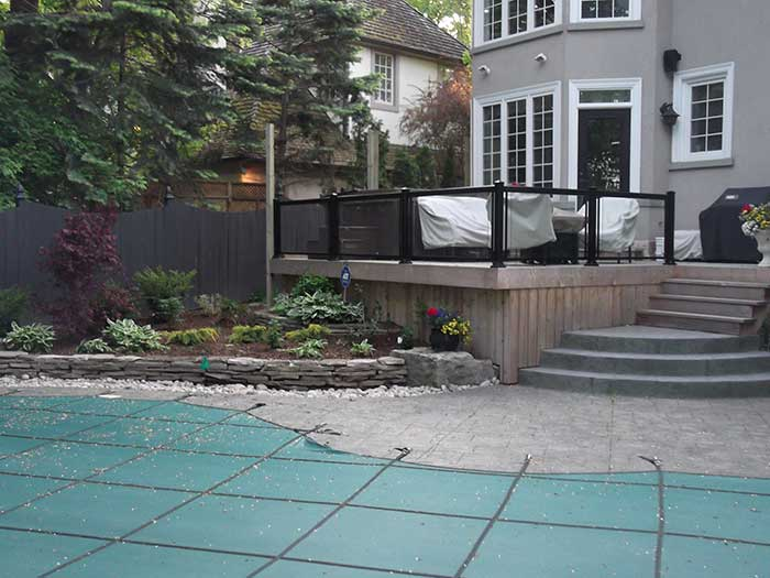Aluminum-Railing-with-Glass-Installation---Richmond-Hill by wholesalefence.ca