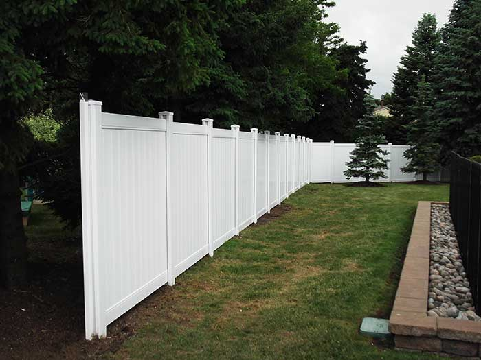 Full-Privacy-Vinyl-Fencing,-Aluminum-Pool-Fencing-and-Post-Holes-Installaions---Thornhill by Fence Direct