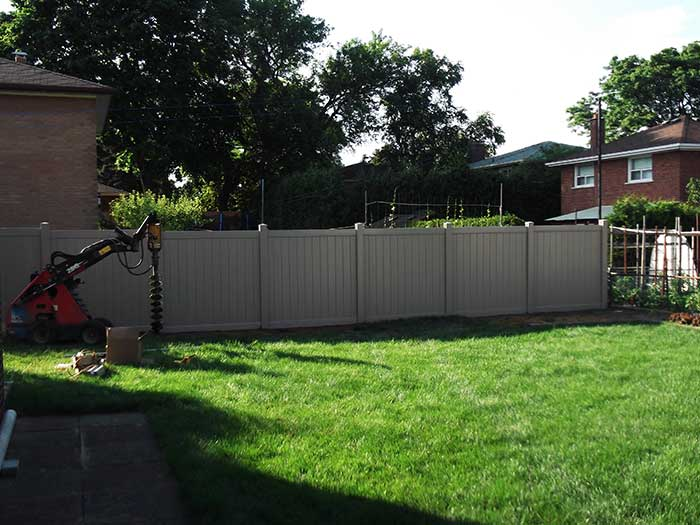 Full-Privacy-Vinyl-Fencing-Installation---New-Market-Ontario by Fence Direct