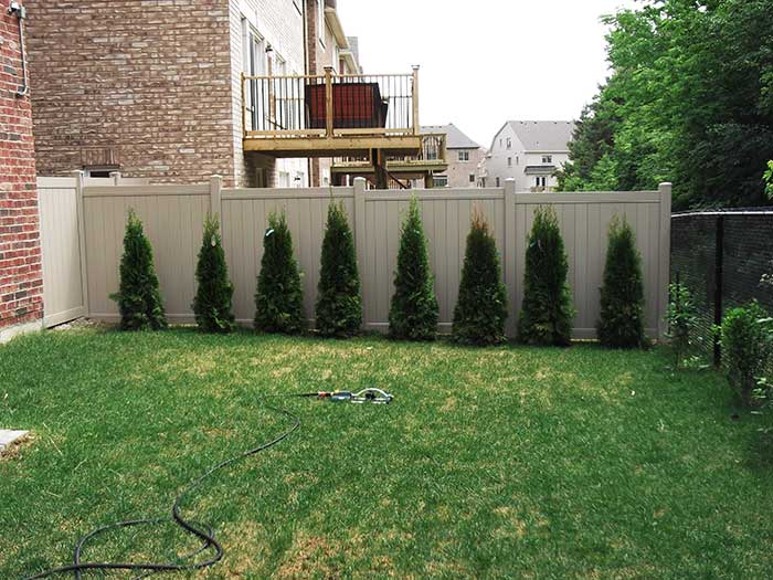Full-Privacy-Vinyl-Fencing-Installation-in-Burlington by Fence Direct
