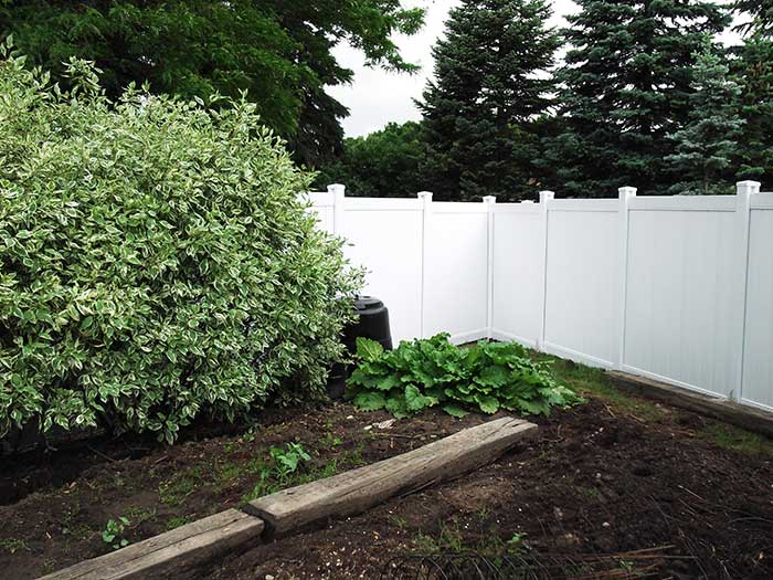 Full-Privacy-Vinyl-Fencing-Installed-in-Thornhill by wholesalefence.ca