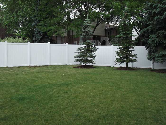 Full-Privacy-Vinyl-Fencing-and-Post-Holes-Installation-in-Thornhill by Fence Direct
