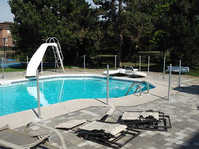Pool-Vinyl-Safety-Fencing-withPicket-Installed--in-Woodbridge-Ontario by wholesalefence.ca