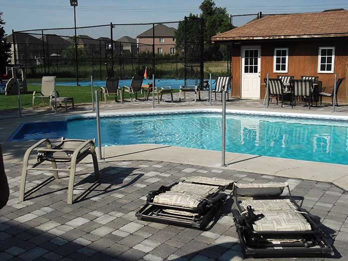 Pool-Vinyl-Safety-Fencing-withPickets-Installed--in-Woodbridge by wholesalefence.ca
