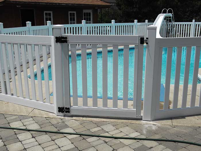 Safety-Picket-Installation-around-the-Pool-in-Woodbridge by wholesalefence.ca