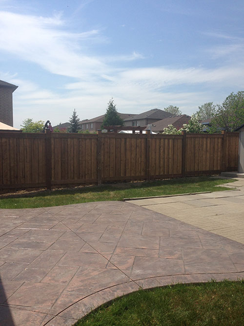Wood Fence Installation by wholesale fence in Richmond Hill